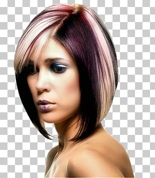 Hairstyle Bob Cut Short Hair Human Hair Color PNG