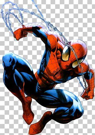 Ultimate Spider-Man Digital Art Comic Book PNG