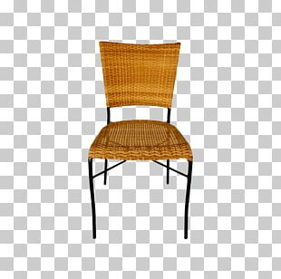 Table Chair Wicker Rattan Furniture PNG