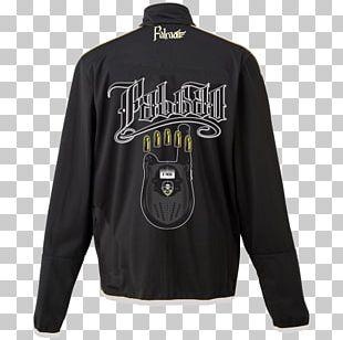 Jacket T-shirt Black Textile Clothing PNG