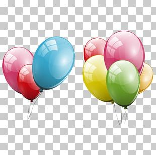 Balloon Party Hat Birthday PNG