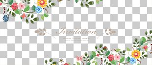 Wedding Invitation Flower Euclidean PNG