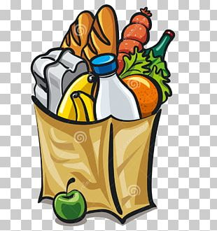 Grocery Store Shopping Bags & Trolleys Supermarket PNG
