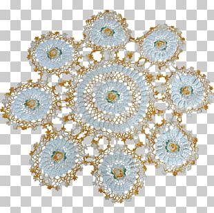 Textile Doily Place Mats Tablecloth Linens PNG