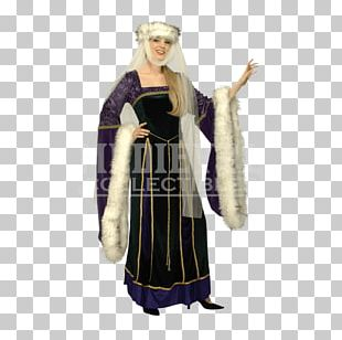 Middle Ages Renaissance Costume Party Clothing PNG