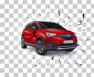 Compact Sport Utility Vehicle Car Opel Crossland X Loterijas.lv PNG