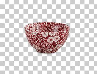 Tableware Ceramic Bowl Porcelain Maroon PNG