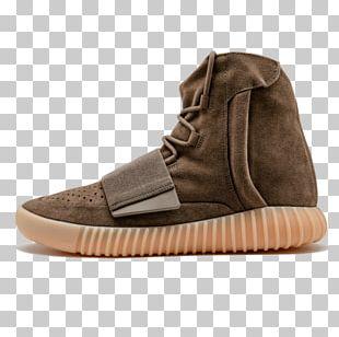 Adidas Yeezy Shoe Tan Sneakers PNG