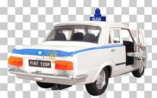 Fiat 125 City Car Model Car Fiat Automobiles PNG