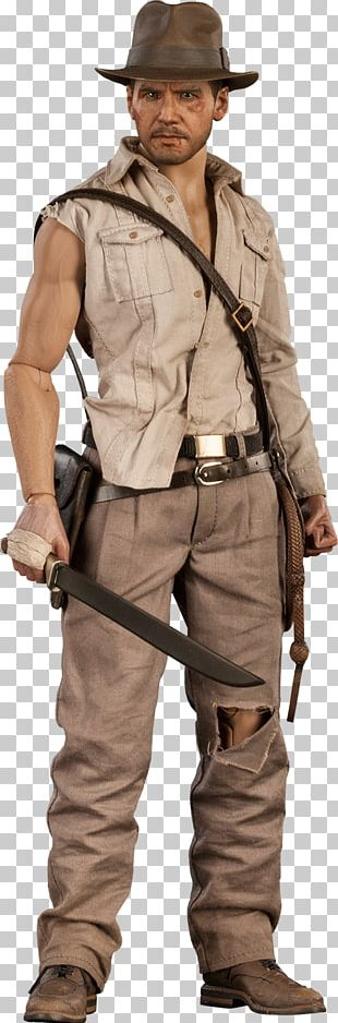Harrison Ford Indiana Jones And The Temple Of Doom Action & Toy Figures Sideshow Collectibles PNG