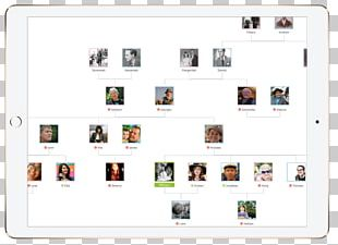 Screenshot Family Tree App Store Trade PNG