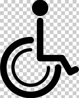 Disability International Symbol Of Access Wheelchair Sign PNG