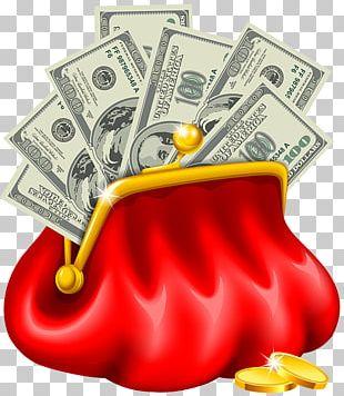 Money Bag Coin Purse Handbag PNG