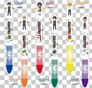 Ballpoint Pen Attack On Titan: Junior High Mechanical Pencil PNG