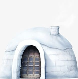 Snow House PNG