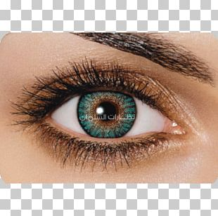 Contact Lenses Eye Color Turquoise PNG
