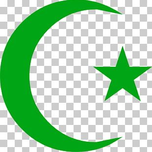 Symbols Of Islam Star And Crescent PNG