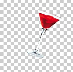 Red Wine Cocktail Martini Wine Glass PNG