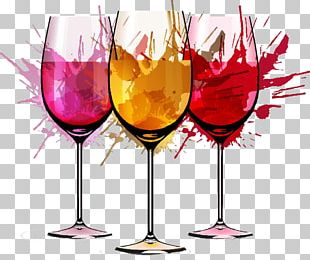 Red Wine Rosxe9 Watercolor Painting PNG