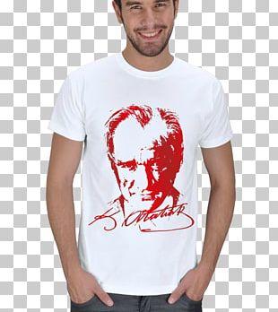 T-shirt Mustafa Kemal Atatürk Crew Neck Collar Clothing Accessories PNG