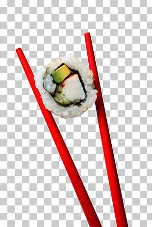 Sushi California Roll Chopsticks Japanese Cuisine Sashimi PNG
