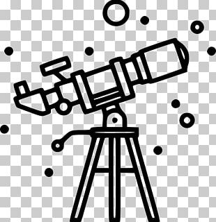 Drawing Telescope Magnifying Glass Data PNG