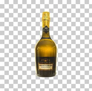 Champagne Liqueur Dessert Wine Glass Bottle PNG