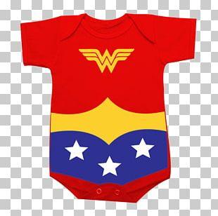 Wonder Woman Female Superhero Party Birthday PNG