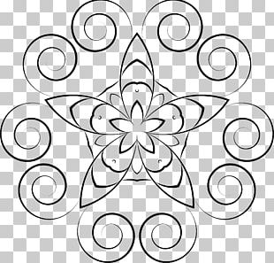 Floral Design Drawing Floral Stencil Designs PNG