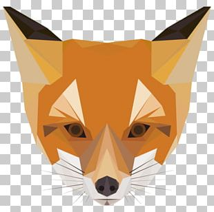 Geometric Shape Geometry Art Fox PNG