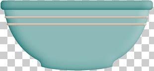 Blue Ceramic Bowl Cup PNG
