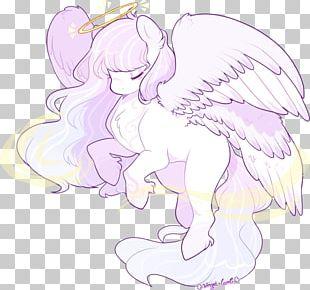 Cartoon Line Art Fairy PNG