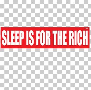 Car Bumper Sticker Sleep Is For The Rich Label PNG