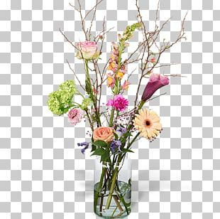 Cut Flowers Vase Flower Bouquet Floral Design PNG