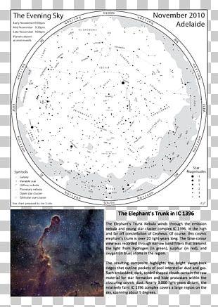 Elephant's Trunk Nebula Circle Organism Font PNG