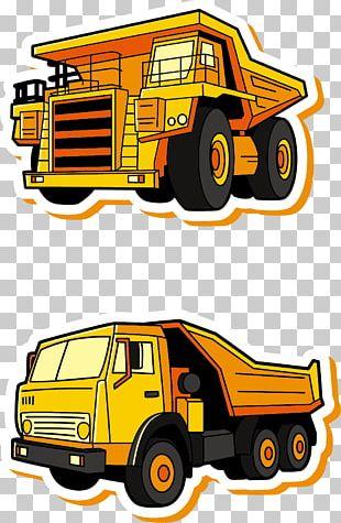 Car Pickup Truck Dump Truck Flatbed Truck PNG