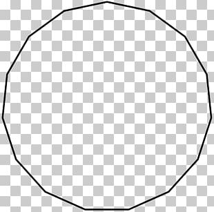 Icosagon Circle Internal Angle Regular Polygon PNG