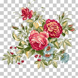 Floral Design Flower Bouquet Vintage Clothing PNG