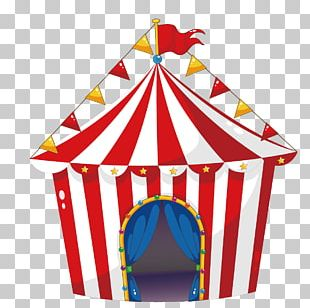 Tent Circus Carnival Illustration PNG