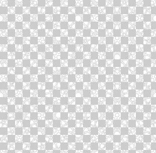 Black And White Textile Pattern PNG
