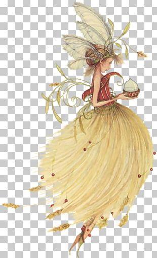 Fairy Tale Art Elf Flower Fairies PNG