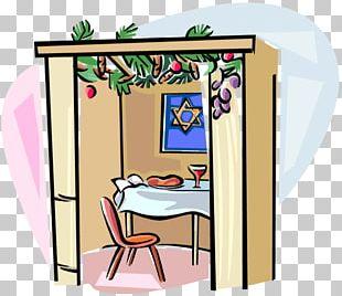 Sukkah Sukkot Jewish Holiday Mitzvah PNG