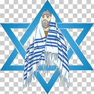 Tallit Rabbi Star Of David Judaism PNG