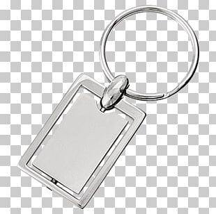 Key Chains Metal Silver Leather PNG