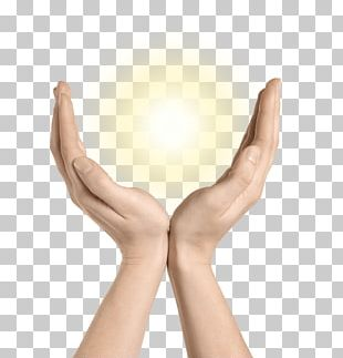 Thumb Light Hand Finger Stock Photography PNG