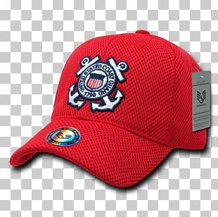 Baseball Cap United States Coast Guard Military Hat PNG