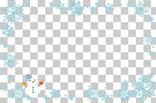 Christmas Card Winter Snowman PNG