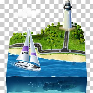Lighthouse Yacht Water Transportation Water Resources PNG