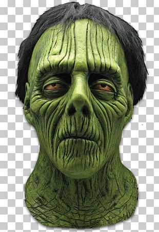 Latex Mask Halloween Costume Frankenstein's Monster PNG