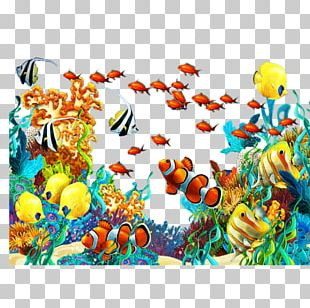Underwater Sea Coral Reef Ocean PNG